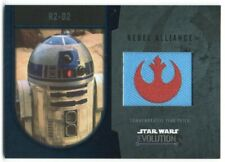 2016 Star Wars Evolution Patches Silver R2-D2 38/50