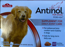 New listing Antinol For Dogs - 60 Count Softgels