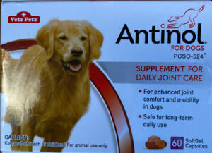 Antinol For Dogs - 60 Count Softgels