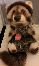 NEW VINTAGE STEIFF ELBOW RACCOON #3477,50