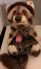 New Vintage Steiff Elbow Raccoon #3477,50