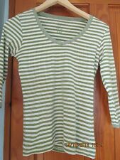 Ladies TU Striped Top in Size 8