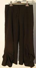 Pantalon large noir « cache cache » taille 40