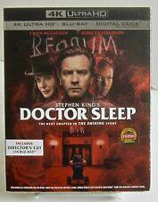 Doctor Sleep 2020 Warner Bros February Ultra 4k HD+Blu-ray+Dig. w Slipcover