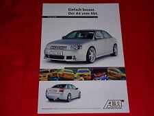 AUDI A4 B6 Limousine von Abt Sportsline Prospekt von 2001