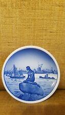 """Royal Copenhagen Denmark Fajance Langelinie 2/2010 Mini Plate 3.25"""""""