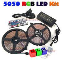 5M/10M RGB LED STRIP LIGHT COLOUR CHANGING TAPE UNDER CABINET KITCHEN LIGHTING