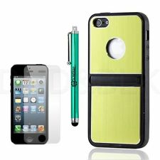 Plain Metal Mobile Phone Fitted Cases/Skins for iPhone 5s