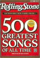 Rolling Stone Easy Piano Sheet Music Classics : 39 Selections from the 500 Gr...
