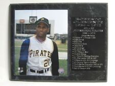 Roberto Clemente - Pittsburgh Pirates statistics plaque #2 - New Lower Pricing!!
