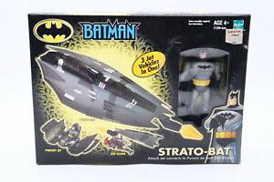 Batman Strato-Bat 3 In 1 Vehicle w/ Batman Figure 2002 Hasbro New In Box Sealed