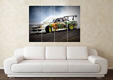 Grand NISSAN 200SX S15 S13 S14 Silvia det dérive RB mur Poster Art Image Print