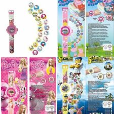 Kids Cartoon Gifts 3D Projection Wristwatch Boys and Girl Digital watch Toys