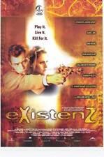 EXISTENZ Movie POSTER 27x40 B Jennifer Jason Leigh Jude Law Ian Holm Willem