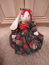 Handmade Homemade Bunny Rabbit Stuffed Animal Toy Collection