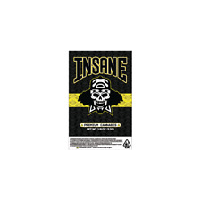 Insane OG Cali Tin Labels Mylar Bag Stickers