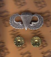 US Army Airborne wing 1.50 inch Fullsized brushed Dress Uniform badge award