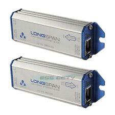 VERACITY LONGSPAN combo - Long Range Ethernet Network PoE extender, Both sides