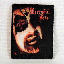 MERCYFUL FATE Black Funeral Black Masses (Printed Small Patch) (NEW)
