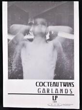 More details for cocteau twins 1982 4ad garlands poster rare vintage original post punk indie