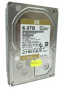 "6TB WD Gold 3.5"" SATA Internal Datacenter Hard Drive Western Digital WD6002FRYZ"