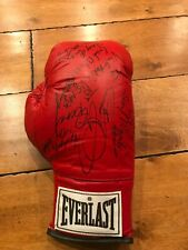 Everlast Boxing glove MULTI (5) signed Gerry Cooney Randall Cobb Barkley Arroyo