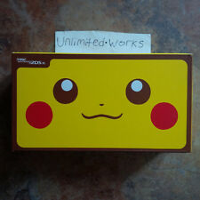 Nintendo New 2DS XL Special Pikachu Edition Handheld Console Brand New