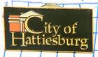 MISSISSIPPI, CITY OF HATTIESBURG VINTAGE SOUVENIR METAL HAT LAPEL PIN