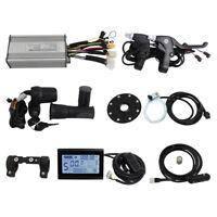 Ebike 36V/48V 500W/750W 25A Controller+LCD+Throttle+Brakes+PAS+Speed Sensor kit