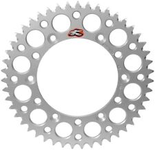 Renthal Ultralight Grooved Rear Sprocket 48T Silver 2004 Husqvarna TE 570