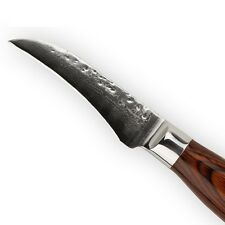 "3 Inch Fruit Knife Damascus Steel Kitchen Knives Sharp Paring Cut Slice Peel  3"""