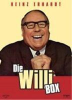 DIE WILLI BOX 4 DVD BOX MIT HEINZ ERHARD KOMÖDIE NEU