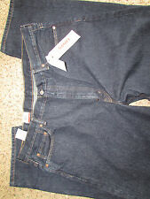 NEW LEVIS 550 RELAXED FIT JEANS MENS 42X32 DARK WASH #005500216 FREE SHIP