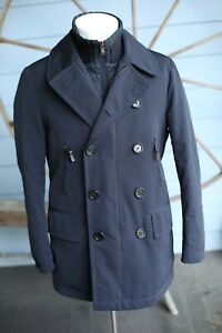 Moncler Lorient Down Jacket Coat sz 2 Navy $1,895