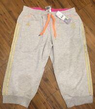 Adidas Womens 3/4 Shorts UK 8 Olympics Team GB Tracksuit Pants  (1)