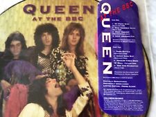 Queen At The BBC Picture Disc LP PROMO Hollywood w/Hype Sticker Freddie Mercury