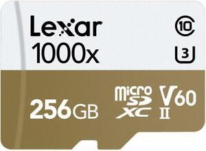 Lexar Professional 1000x microSDXC UHS-II Card with USB 3.0 Reader 256GB