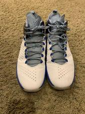 Nike Jordan Melo M11 sz12 White Royal Blue Basketball Shoes-only used inside~5xs