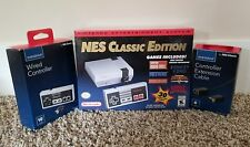 MODDED NINTENDO NES CLASSIC MINI (665+ GAMES) BUNDLE & Extras.