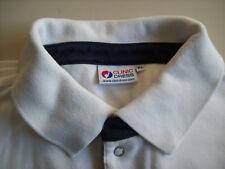 POLO - Shirt  Hemd von CLINIC WEIß 100% Baumwolle SWEAT Arbeitskleidung Gr.XL