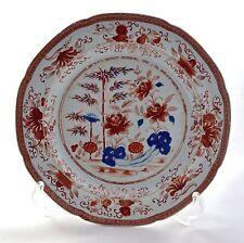 """Antico SPODE pietra della Cina dipinti a mano & stampato IMARI 8.25"""" PIASTRA c.1813-22"""