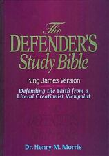 KJV - Defender's Study Bible by Dr. Henry Morris, Ph.D., Thomas Nelson, Acceptab