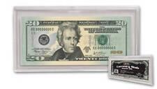 BCW Currency Slab Holder Regular Bill Size