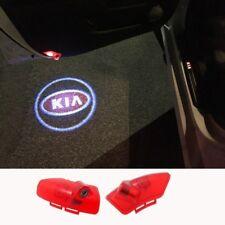 2X Led Door Light Projector FOR KIA OPTIMA K5 Cree Osram Laser HD Logo Emblem 3D