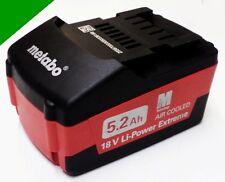 ORIGINAL Metabo Akku 18 V 5,2  Ah 18 Volt  Air Cooled - 625587  Extreme  M Ultra