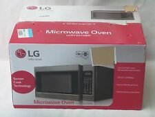 LG LCRT2010BD  - 2.0 Cu. Ft. Full-Size 1200W Black Stainless-Steel Microwave