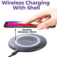 10W Ultra Strong Qi Fast Wireless Charger Pad for iPhone 11 X XR 8 Samsung Phone
