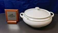 Hermes Rythme Verde Platino Zuppiera - 4329P - Soupierre - Soup Tureen - NEW