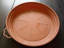 Soucoupe Ø21 cm pour pot de fleur marron
