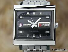 Rado Manhattan 1970Swiss Made Vintage Automatic Men's 36mm Vintage Watch JA92